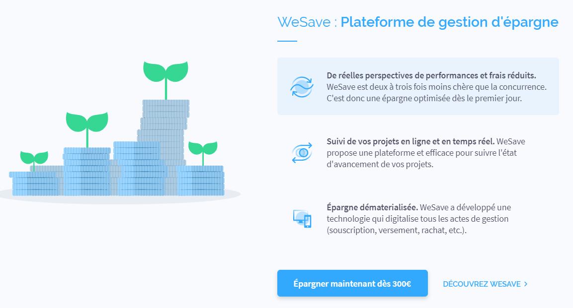wesave épargne